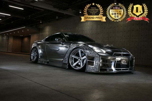 KUHLJAPAN PROJECT  2015Ver R35GT-R 3D ULTIMATE ENGRAVING METAL
