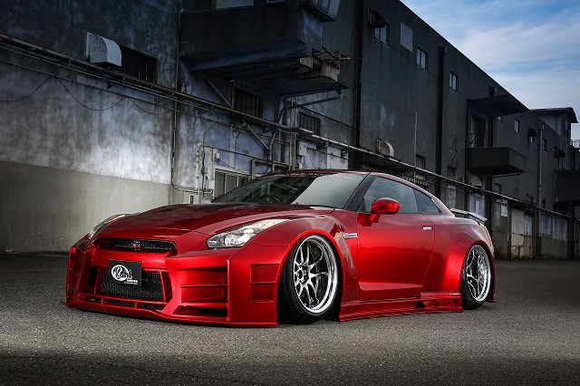 KUHLRACING R35GT-R 35R-GT WIDEBODYKIT Ver1